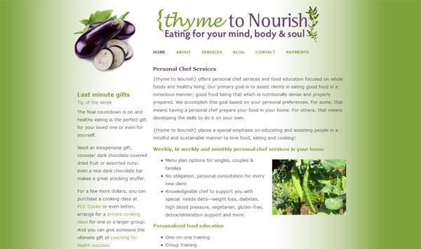 Thyme to Nourish